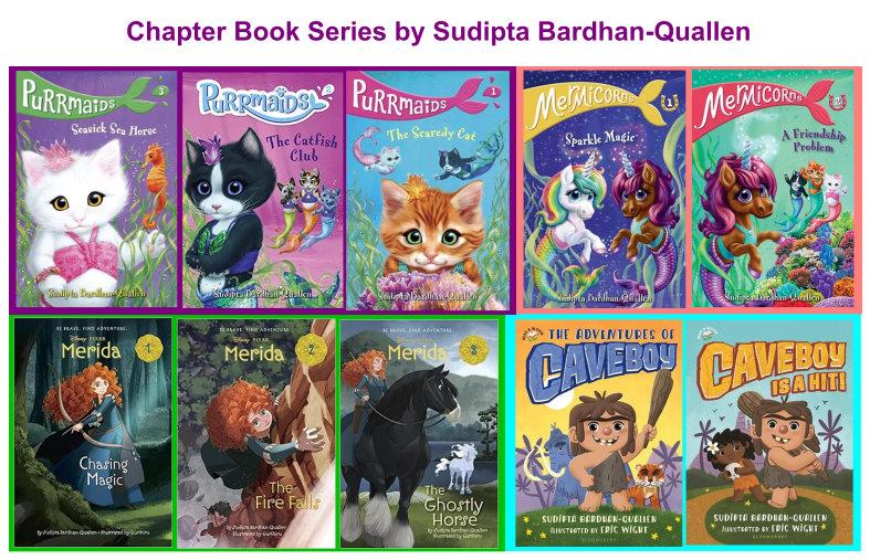 Chapter Book Series by Sudipta Bardhan-Quallen